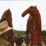 Large animals in the Theatre Field.