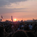 Sunset at the Other Stage 2009