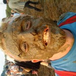 I think ive got some mud on my face!