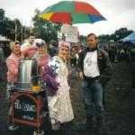 Tea Ladies on tour (in the mud)