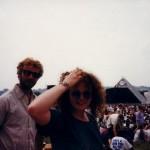Carol the Hair at the Pyramid.