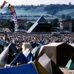 View Of Pyramid Stage From Distance.
