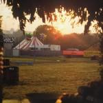 Sunrise in the Jazz Field