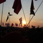 Sunset over the crows, Saturday night, Editors, Other Stage
