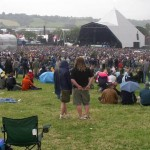 The Pyramid Stage.