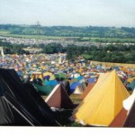 Glasto '93, me 23, daughter 4, she was at home with her Nan x