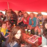 our possy/crew for glasto 2010