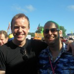 Tim Lovejoy making my birthday even better, top man had the time for photos with all of us!!