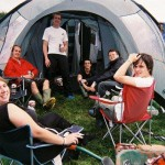 Tent happiness!