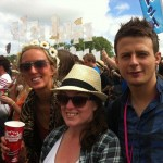 First day of sun - Other Stage watching Jessie J