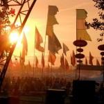 Sunsets over the flags, aaaaaah.