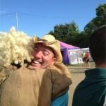 Robbo hugs a troll