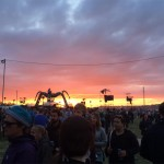 Sunset over Arcadia
