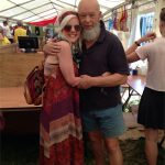 Meeting the Glastonbury King