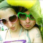 Heart of sunglasses