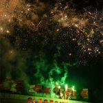 Wednesday fireworks