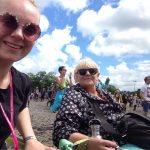 Jess Glynn in the sunshine