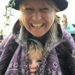 Nana and grand-daughter love Glastonbury!