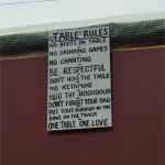 Table rules!