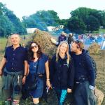 Glasto crew at the stone circle ♥️