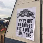 Glastonbury Free Press Poster