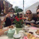 Afternoon tea at Glastonbury