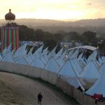 Above the tipis