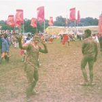 Muddy men up at the Park
