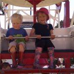 Sunday afternoon on the kidz field Ferris Wheel
