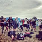 Jersey Glasto gang 2017