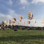 Glastonbury Colour Flags