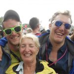 For us brothers, Glasto is always a chance to catch up with our Mum.