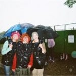 Toilets and heavy rain! Homemade rain jackets!