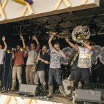 Brass Band at Greenpeace