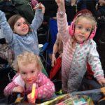 Kids enjoying Dolly