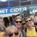 Headed straight for the cider bus